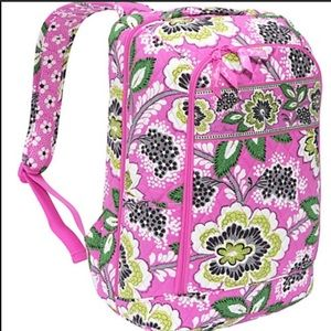 GUC Vera Bradley Priscilla Pink Laptop Backpack